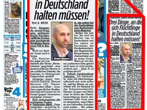 Ahmad Mansour beim Politischen Gesprächskreis Jüdischer Berliner