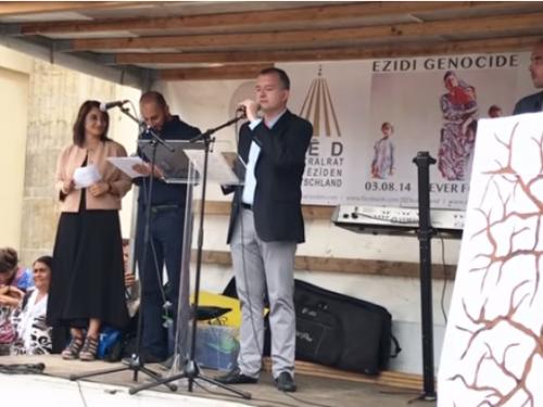 Ansprache von Elio Adler anlässlich 3. Jahrestag