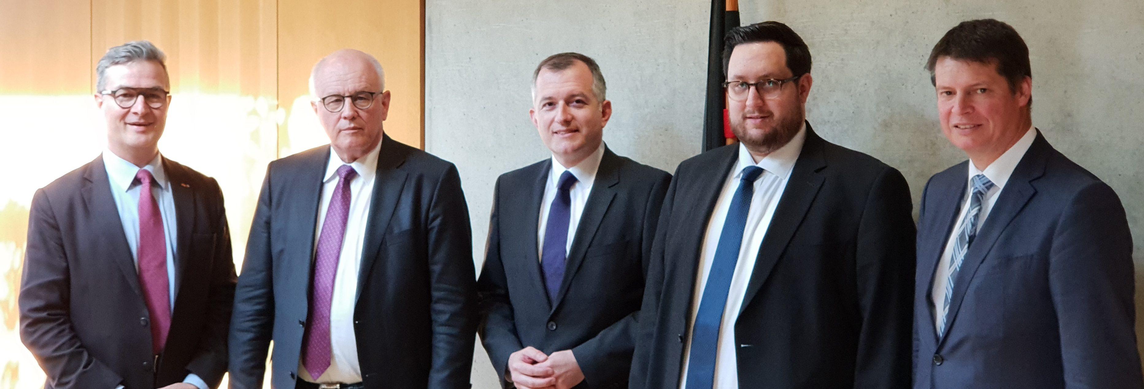 Termin bei Volker Kauder, Vorsitzender der CDU/CSU-Bundestagsfraktion