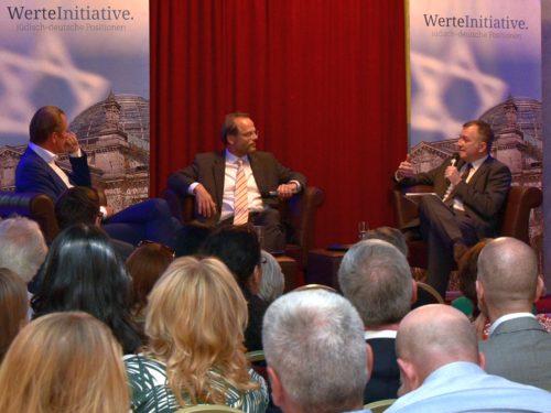 Podiumsgespräch mit dem AS-Beauftragten Dr. Felix Klein und Springer-Chef Dr. Mathias Döpfner