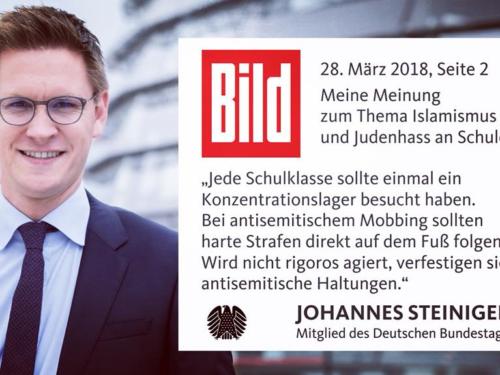 Gespräch mit MdB Johannes Steiniger (CDU)