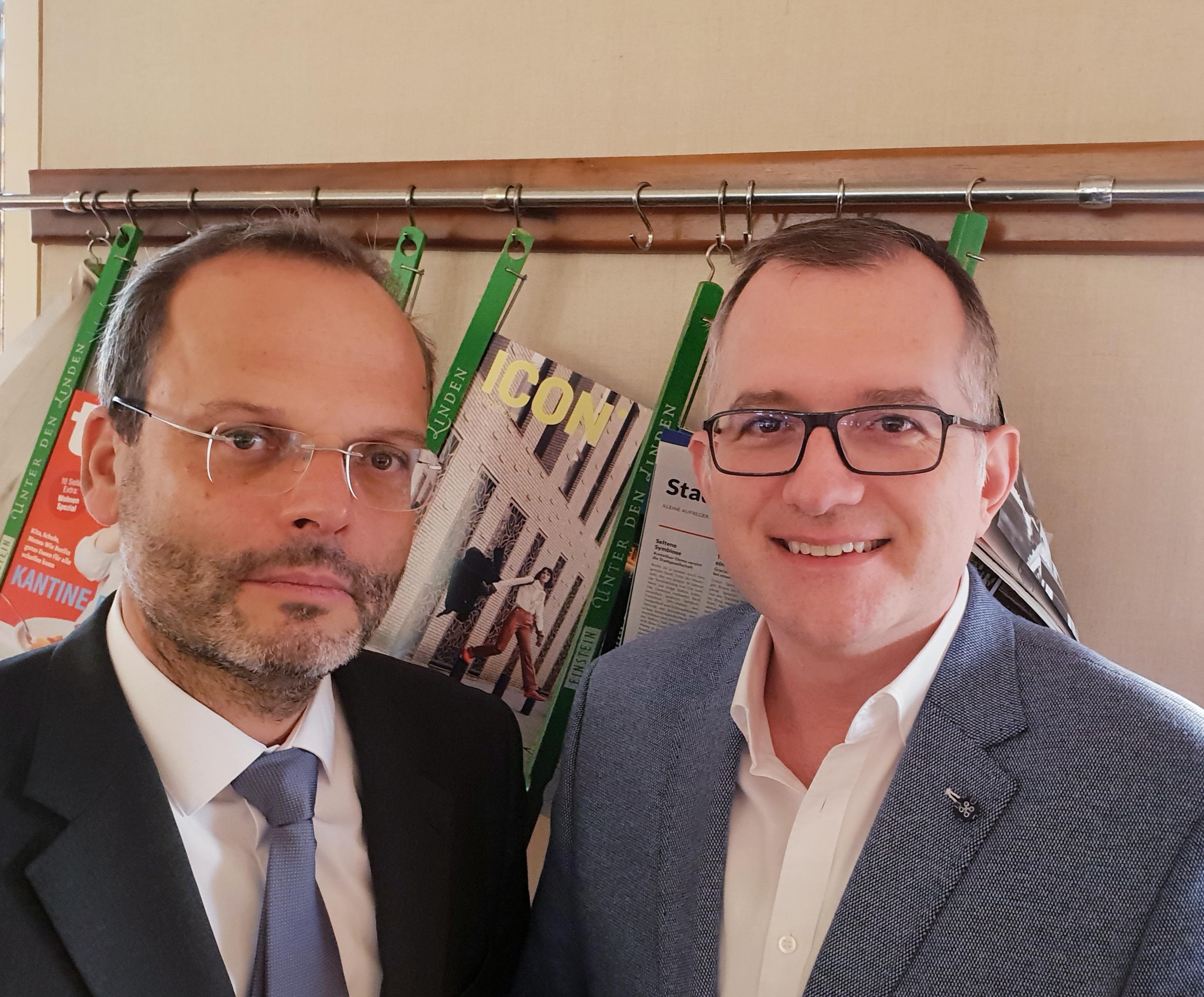 Treffen mit Dr. Felix Klein, Antisemitismusbeauftragter der Bundesregierung