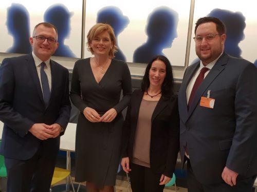 Treffen mit Julia Klöckner (CDU)