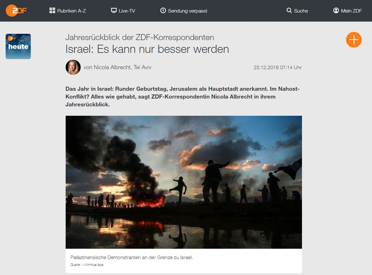 ZDF Jahresrückblick 2018 -