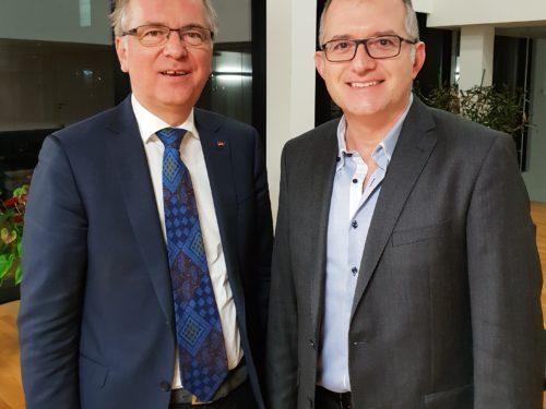 Treffen mit MdB Prof. Dr. Heribert Hirte (CDU)