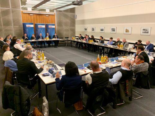 Ein Abend mit dem Vorsitzenden der CDU/CSU-Bundestagsfraktion, Ralph Brinkhaus