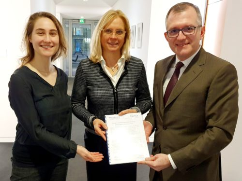 Treffen mit Andrea Lindholz, MdB (CSU)