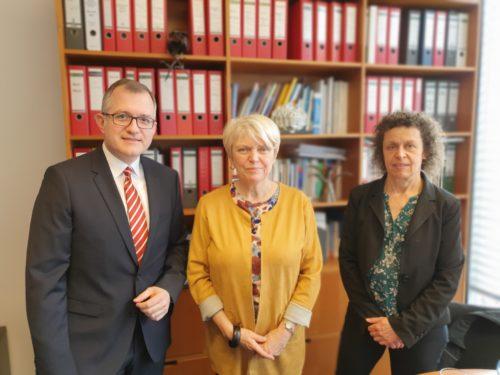 Treffen Doris Barnett (SPD)