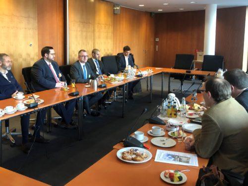Parlamentarisches Frühstück der FDP Bundestagsfraktion