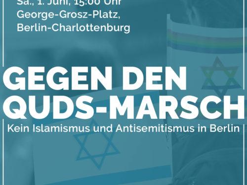 Pressemitteilung: Quds-Marsch