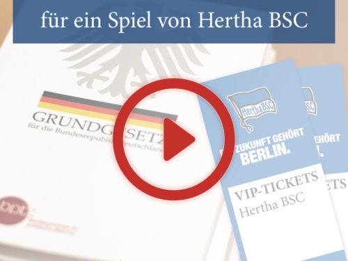 """Gewinner-Video """"70 Jahre Grundgesetz"""
