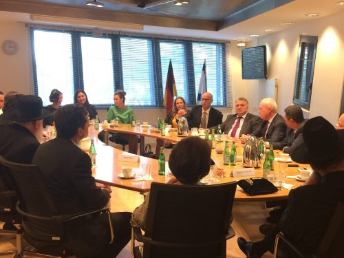 Treffen mit israelischem Minister Yoav Galant