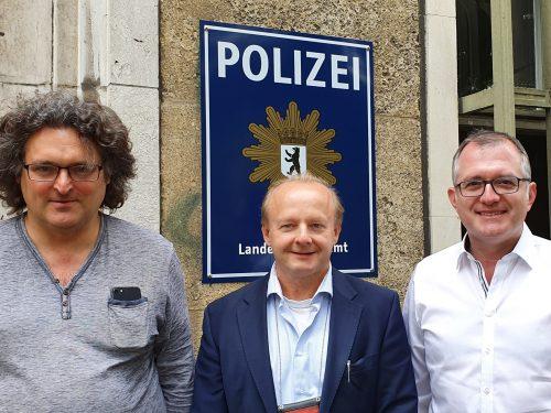 Treffen mit Antisemitismusbeauftragtem der Berliner Polizei Pemp