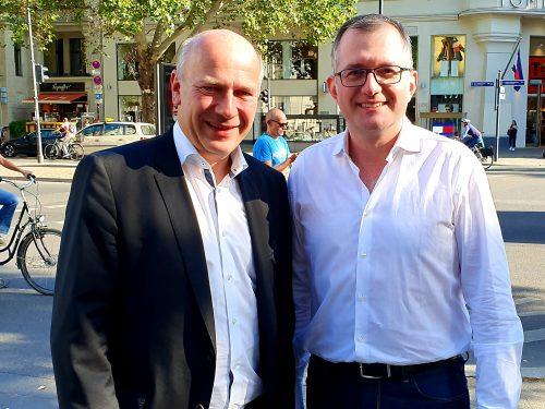 Treffen mit Kai Wegner (CDU)