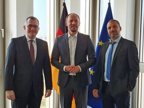 Treffen mit Staatssekretär Marco Wanderwitz (CDU)