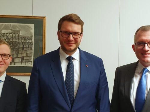 Treffen mit MdB Marian Wendt, CDU