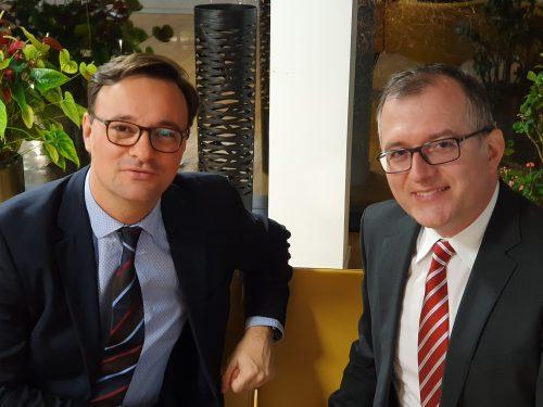 Treffen mit MdB Oliver Luksic, FDP
