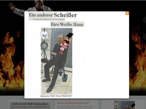 Pressemitteilung: Antisemitische Äußerungen von Arzt aus Hannover. Autor von Hass-Website und -Buch