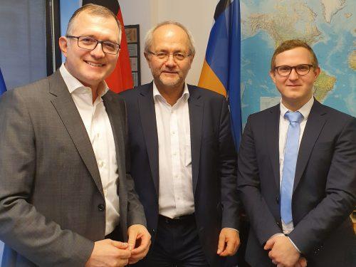 Treffen mit MdB Volkmar Klein, CDU