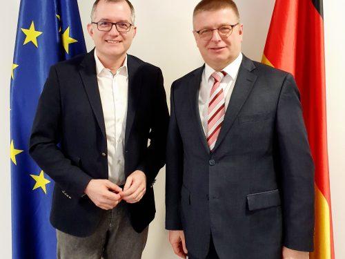 Treffen mit dem Präsidenten des Bundesamts für Verfassungsschutz Thomas Haldenwang