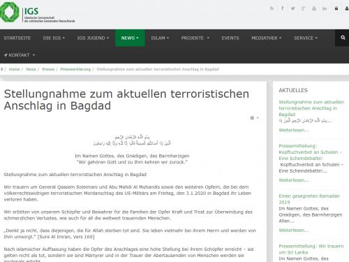 Terrorverharmlosung der
