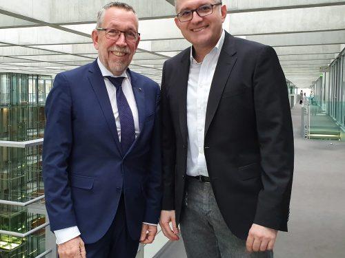 Der bayerische Bundestagsabgeordnete Karl-Heinz Brunner (SPD)