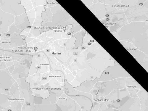 Terrorattenat in Hanau: Wir trauern mit den Familien der Opfer. Rechtsstaat und Demokratie maximal gefordert.