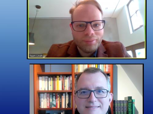 Video-Treffen mit MdB Helge Lindh (SPD)