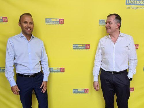 Treffen mit MdA Sebastian Czaja (Fraktionsvorsitzender der FDP, Berlin))