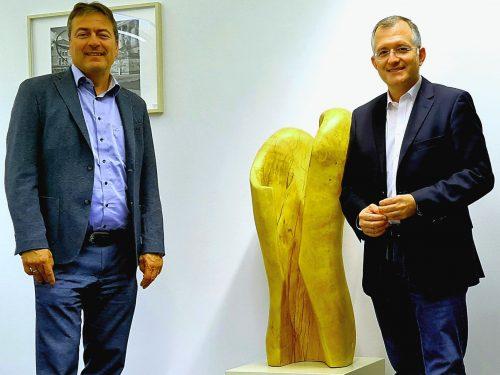 Treffen mit Peter Heidt (MdB, FDP)