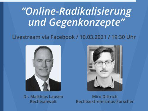 Werte(Initiative) in der Diskussion: Online-Radikalisierung und Gegenkonzepte.