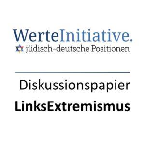 Diskussionspapier Linksextremismus